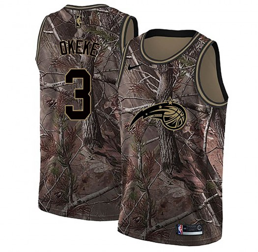 Youth Chuma Okeke Orlando Magic Nike Swingman Camo Realtree Collection Jersey