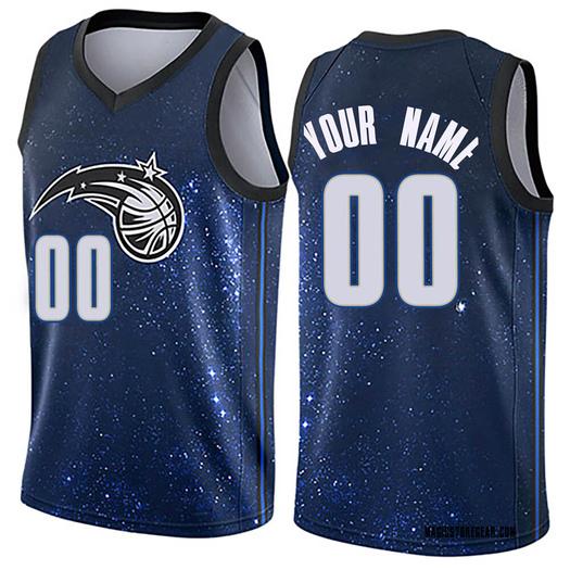 Youth Custom Orlando Magic Nike Swingman Blue Jersey - City Edition