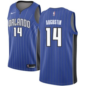 Youth D.J. Augustin Orlando Magic Nike Swingman Royal Jersey - Icon Edition