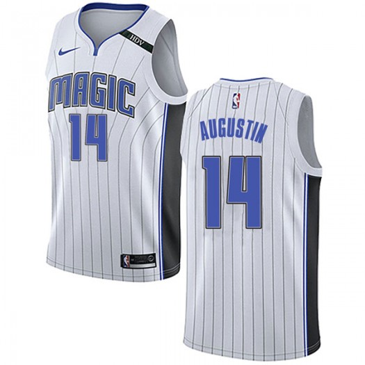 Youth D.J. Augustin Orlando Magic Nike Swingman White Jersey - Association Edition