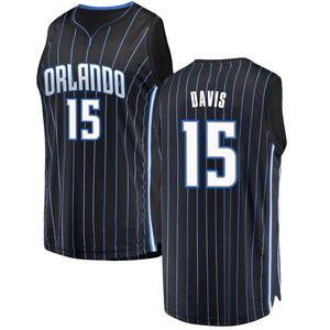 Youth Devin Davis Orlando Magic Fanatics Branded Swingman Black Fast Break Jersey - Statement Edition