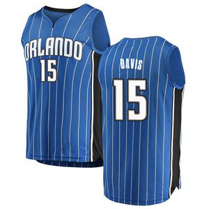 Youth Devin Davis Orlando Magic Fanatics Branded Swingman Blue Fast Break Jersey - Icon Edition