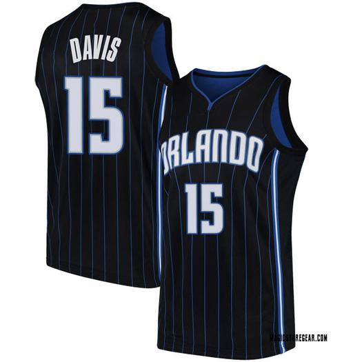 Youth Devin Davis Orlando Magic Nike Swingman Black Jersey - Statement Edition