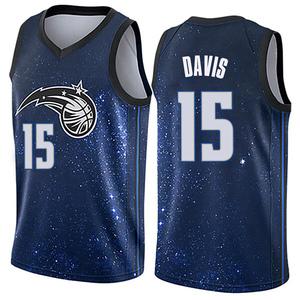 Youth Devin Davis Orlando Magic Nike Swingman Blue Jersey - City Edition