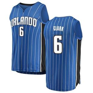 Youth Gary Clark Orlando Magic Fanatics Branded Swingman Blue Fast Break Jersey - Icon Edition