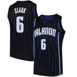 Youth Gary Clark Orlando Magic Nike Swingman Black Jersey - Statement Edition