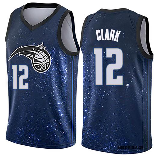 Youth Gary Clark Orlando Magic Nike Swingman Blue Jersey - City Edition