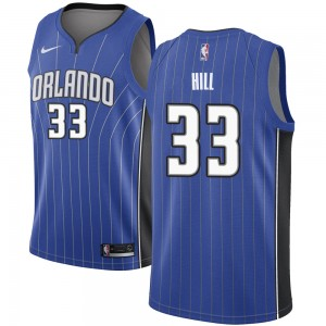 Youth Grant Hill Orlando Magic Nike Swingman Royal Jersey - Icon Edition