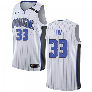 Youth Grant Hill Orlando Magic Nike Swingman White Jersey - Association Edition