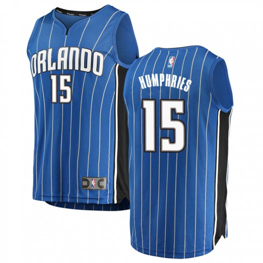 Youth Isaac Humphries Orlando Magic Fanatics Branded Swingman Blue Fast Break Jersey - Icon Edition