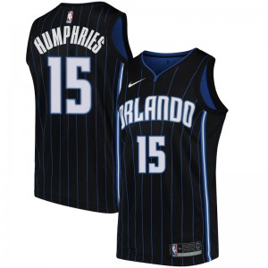 Youth Isaac Humphries Orlando Magic Nike Swingman Black Jersey - Statement Edition