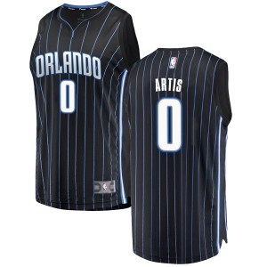 Youth Jamel Artis Orlando Magic Fanatics Branded Swingman Black Fast Break Jersey - Statement Edition