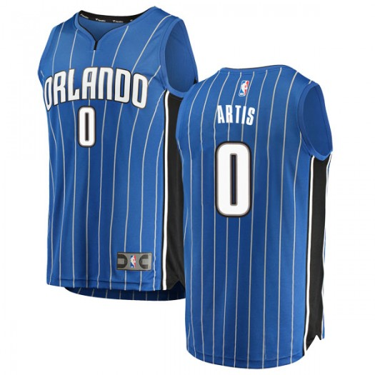 Youth Jamel Artis Orlando Magic Fanatics Branded Swingman Blue Fast Break Jersey - Icon Edition