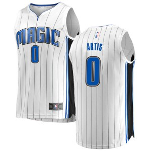 Youth Jamel Artis Orlando Magic Fanatics Branded Swingman White Fast Break Jersey - Association Edition