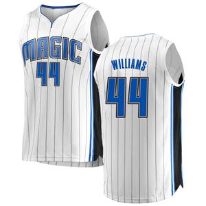 Youth Jason Williams Orlando Magic Fanatics Branded Swingman White Fast Break Jersey - Association Edition
