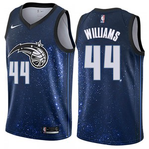 Youth Jason Williams Orlando Magic Nike Swingman Blue Jersey - City Edition
