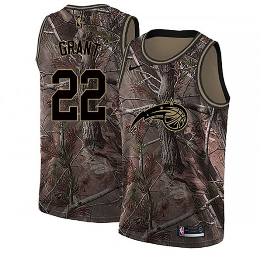 Youth Jerian Grant Orlando Magic Nike Swingman Camo Realtree Collection Jersey