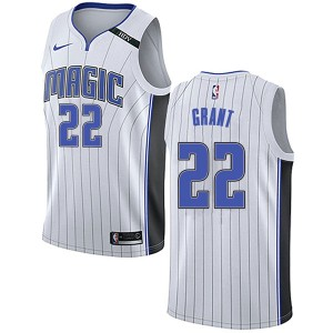 Youth Jerian Grant Orlando Magic Nike Swingman White Jersey - Association Edition