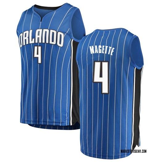 Youth Josh Magette Orlando Magic Fanatics Branded Swingman Blue Fast Break Jersey - Icon Edition