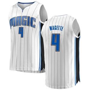 Youth Josh Magette Orlando Magic Fanatics Branded Swingman White Fast Break Jersey - Association Edition