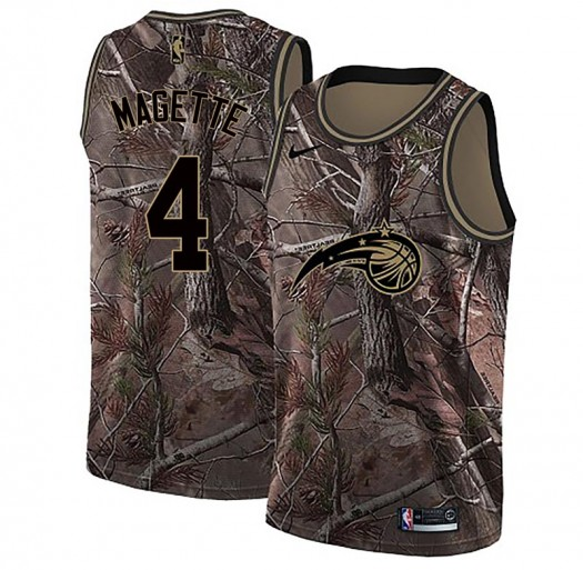 Youth Josh Magette Orlando Magic Nike Swingman Camo Realtree Collection Jersey