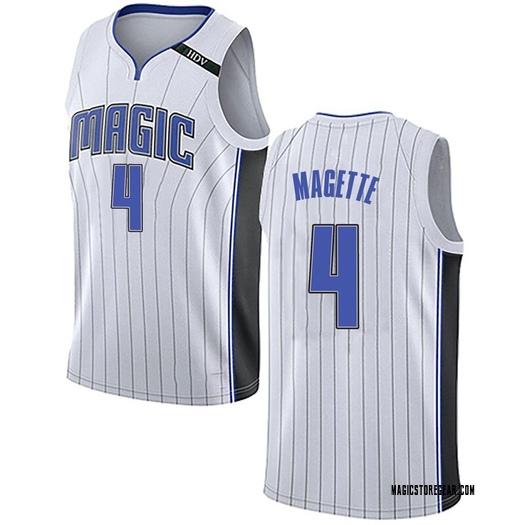 Youth Josh Magette Orlando Magic Nike Swingman White Jersey - Association Edition
