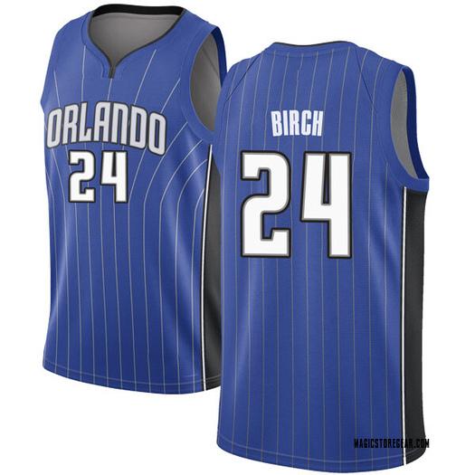Youth Khem Birch Orlando Magic Nike Swingman Royal Jersey - Icon Edition
