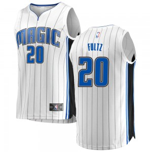 Youth Markelle Fultz Orlando Magic Fanatics Branded Swingman White Fast Break Jersey - Association Edition