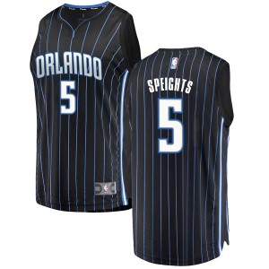 Youth Marreese Speights Orlando Magic Fanatics Branded Swingman Black Fast Break Jersey - Statement Edition