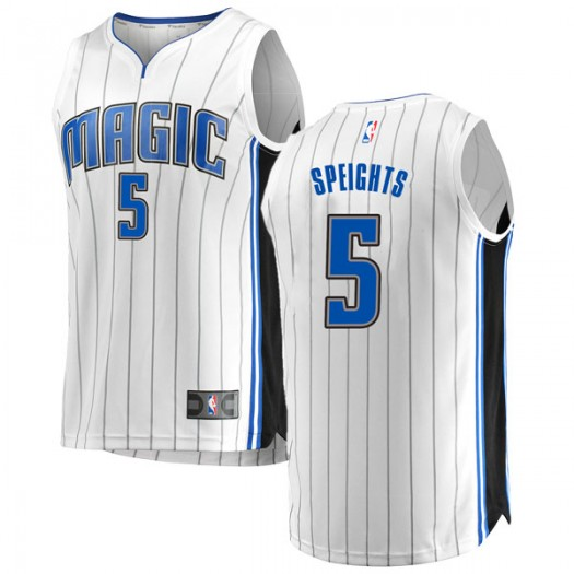 Youth Marreese Speights Orlando Magic Fanatics Branded Swingman White Fast Break Jersey - Association Edition