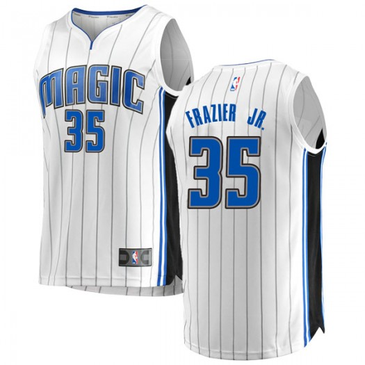 Youth Melvin Frazier Jr. Orlando Magic Fanatics Branded Swingman White Fast Break Jersey - Association Edition