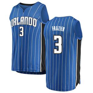 Youth Melvin Frazier Orlando Magic Fanatics Branded Swingman Blue Fast Break Jersey - Icon Edition