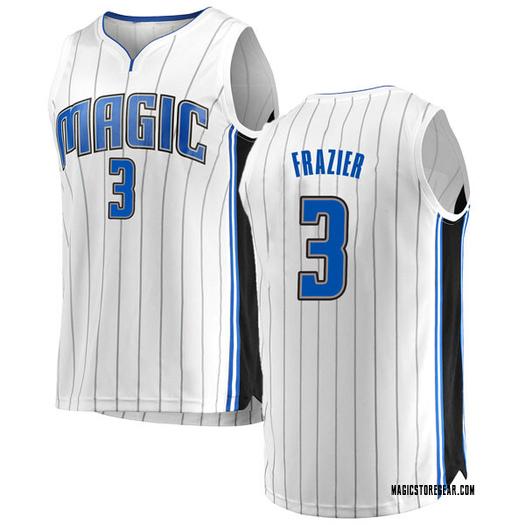 Youth Melvin Frazier Orlando Magic Fanatics Branded Swingman White Fast Break Jersey - Association Edition