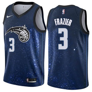 Youth Melvin Frazier Orlando Magic Nike Swingman Blue Jersey - City Edition