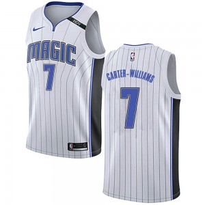Youth Michael Carter-Williams Orlando Magic Nike Swingman White Jersey - Association Edition
