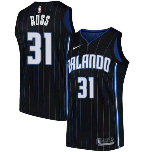 Youth Terrence Ross Orlando Magic Nike Swingman Black Jersey - Statement Edition