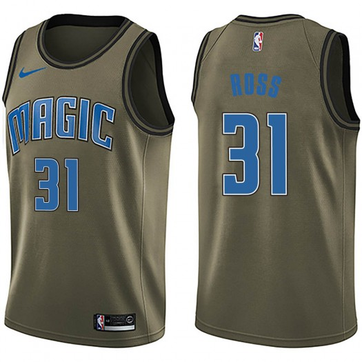 Youth Terrence Ross Orlando Magic Nike Swingman Green Salute to Service Jersey