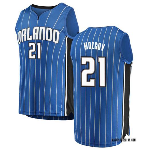 Youth Timofey Mozgov Orlando Magic Fanatics Branded Swingman Blue Fast Break Jersey - Icon Edition