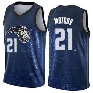 Youth Timofey Mozgov Orlando Magic Nike Swingman Blue Jersey - City Edition