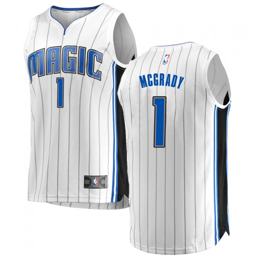 Youth Tracy Mcgrady Orlando Magic Fanatics Branded Swingman White Fast Break Jersey - Association Edition