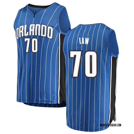 Youth Vic Law Orlando Magic Fanatics Branded Swingman Blue Fast Break Jersey - Icon Edition