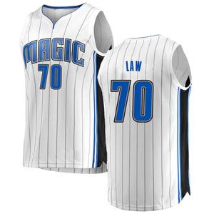 Youth Vic Law Orlando Magic Fanatics Branded Swingman White Fast Break Jersey - Association Edition