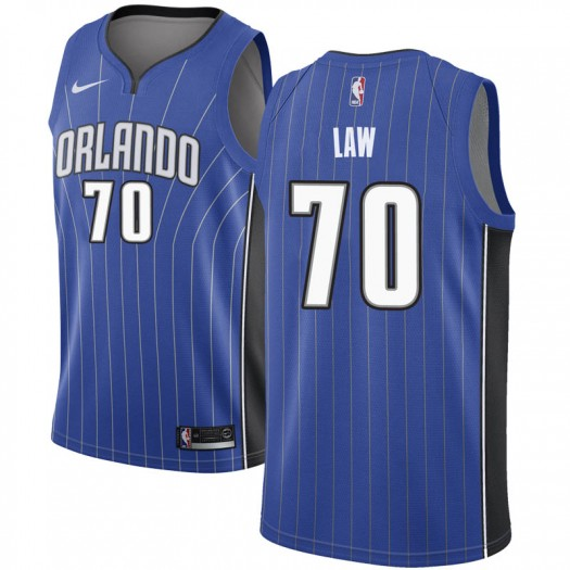 Youth Vic Law Orlando Magic Nike Swingman Royal Jersey - Icon Edition