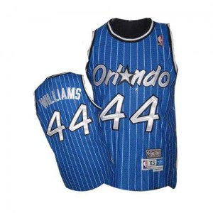 Men's Jason Williams Orlando Magic Mitchell and Ness Authentic Royal Blue Throwback Jersey