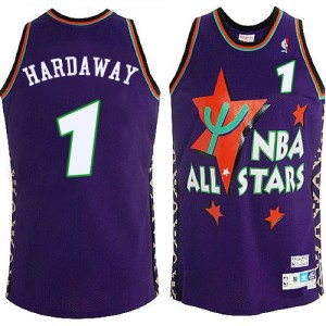 Men's Penny Hardaway Orlando Magic Mitchell and Ness Authentic Blue 1995 All Star Throwback Jersey