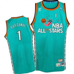 Men's Penny Hardaway Orlando Magic Mitchell and Ness Authentic Light Blue 1996 All Star Throwback Jersey