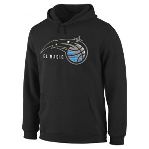 Men's Orlando Magic Black Noches Enebea Pullover Hoodie -