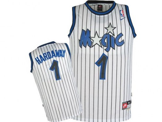 Men's Penny Hardaway Orlando Magic Adidas Swingman White Throwback Jersey