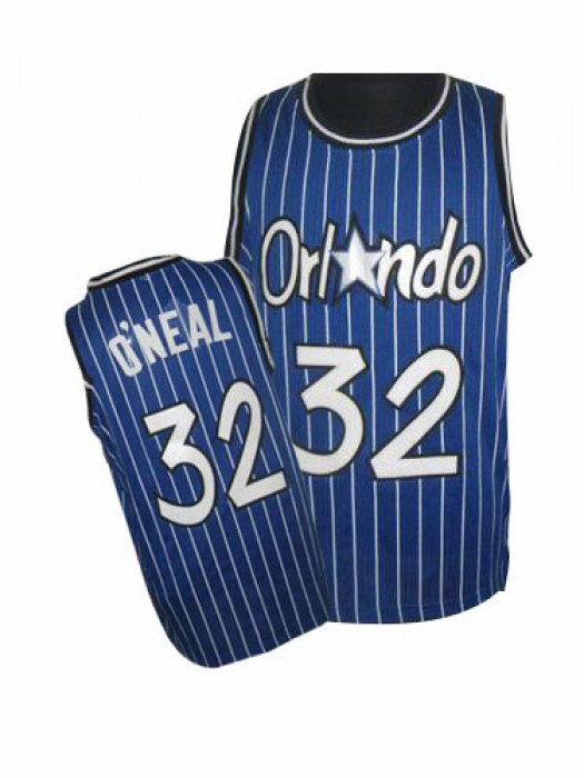 Men's Shaquille O'Neal Orlando Magic Adidas Swingman Royal Blue Throwback Jersey